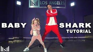 BABY SHARK Dance Tutorial | Matt Steffanina & Everleigh Rose Choreography  (2019)