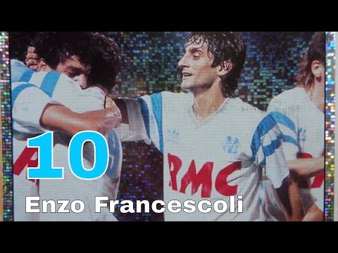 Enzo Francescoli - Number 10 of Olympique De Marseille