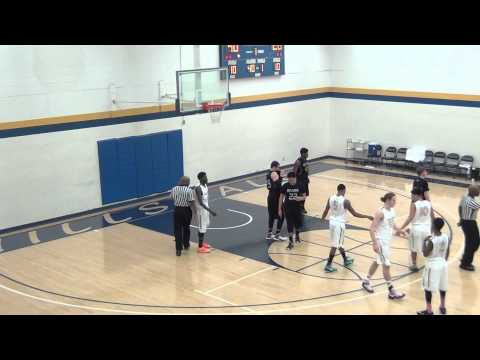 Barclay College Men's Basketball at Hillsdale 1.20.15