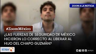 ¿Hizo lo correcto AMLO al liberar al hijo del Chapo Guzmán?