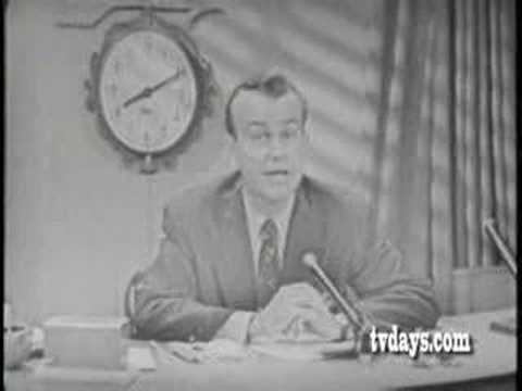 Image result for jack paar replaced walter cronkite on the morning show cbs