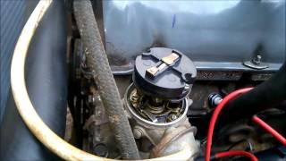 Проверка и установка момента зажигания ВАЗ 2106 (классика)