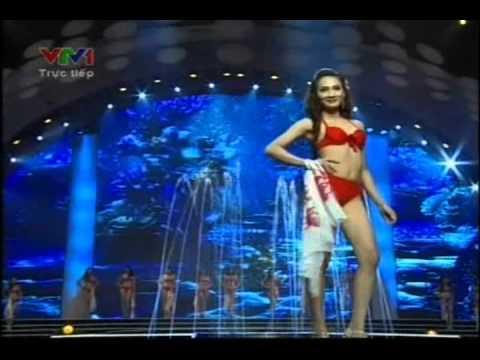Hoa hậu Việt nam 2012   Chung kết   Phần thi áo tắm   Hoa Hau Viet Nam 2012