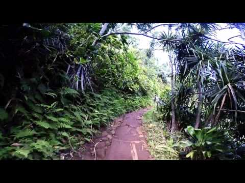Kauai - Na Pali Coast - Kalalau Trail (Ke'e Beach to Hanakapiai Beach full trail)