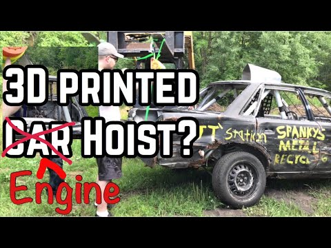 Can A 160:1 3D Printed Gearbox Lift A Car?