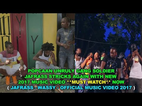 JaFrass - Wassy {Official Music Video } PoPcaan Unruly Gang Soldier