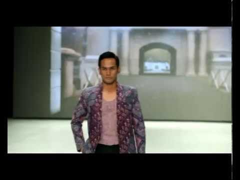 Priscilla Saputro at Indonesia Fashion Week IFW 2014 Batik Nyonya