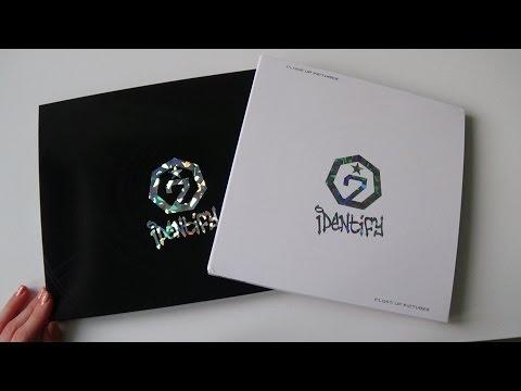 Unboxing GOT7 갓세븐 1st Studio Album Identify (Original & Close Up Version)