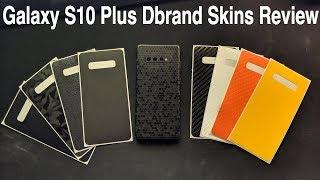 Samsung Galaxy S10+ dbrand skins review