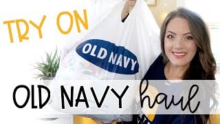 Old Navy Haul & Try On