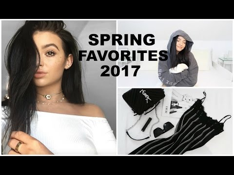 MY MARCH FAVORITES! | Makeup, music, food, fashion!