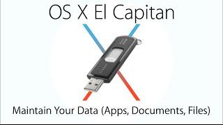 إنشاء للتمهيد USB فلاش محرك الأقراص الذي تريد تثبيت نظام التشغيل Mac OS X كابيتان