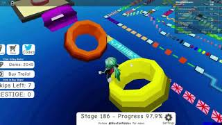 Roblox Mega Fun Obby 2 Hholykukingames Plays Stages 185 To 190