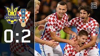 Kroatien dank Kramaric in den Playoffs: Ukraine - Kroatien 0:2 | Highlights | WM-Quali | DAZN