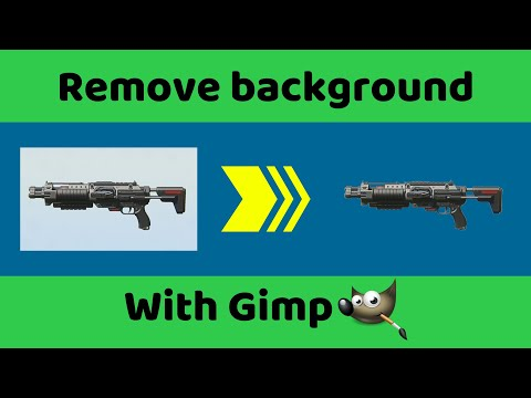 Easily Remove Image Background with Gimp thumbnail