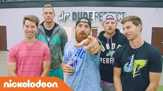Take Football ???? to the Next Level w/ Dude Perfect! | The Dude Perfect Show | Nick
