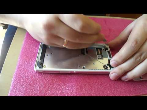 Sony Xperia ZR - замена тачскрина (экрана)