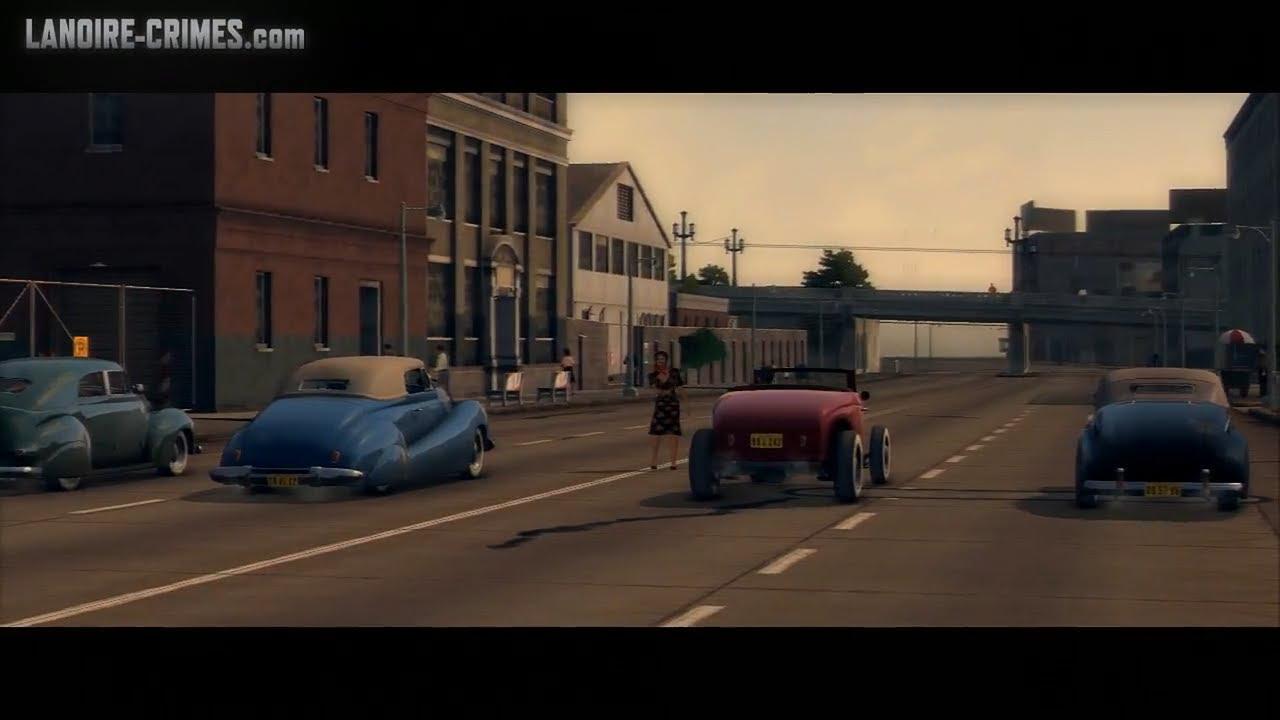 La Noire The Consul S Car Walkthrough