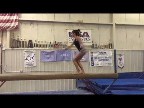 Haley Kondo Class of 2018 Gymnastics College Recruiting Video