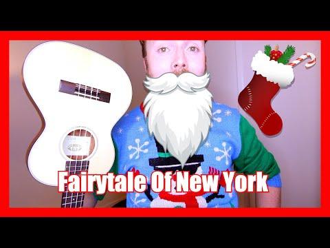 Fairytale of New York - The Pogues (Christmas Ukulele Tutorial)