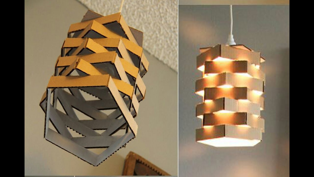 Diy Paper Lamp Lantern How To Make A Night Lamp Home