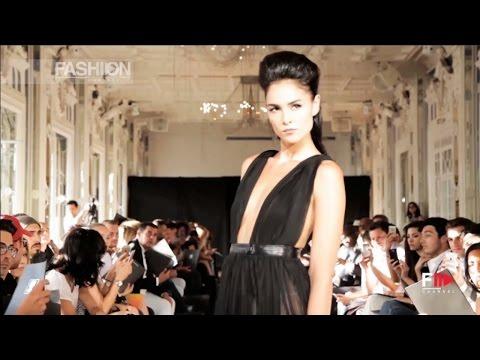 MAISON ANOUFA Full Show Fall 2015 Haute Couture Paris by Fashion Channel