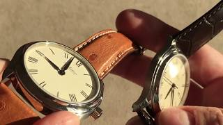 "Ole Mathiesen ""1919 Heritage"" Stunning Danish Dress Watches - Double Review"