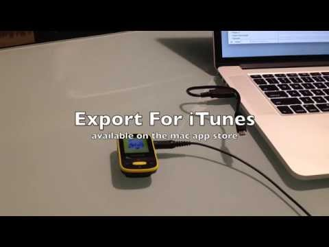 Transfer ITunes Playlists To SanDisk Clip Sport MP3 Player (Mac)