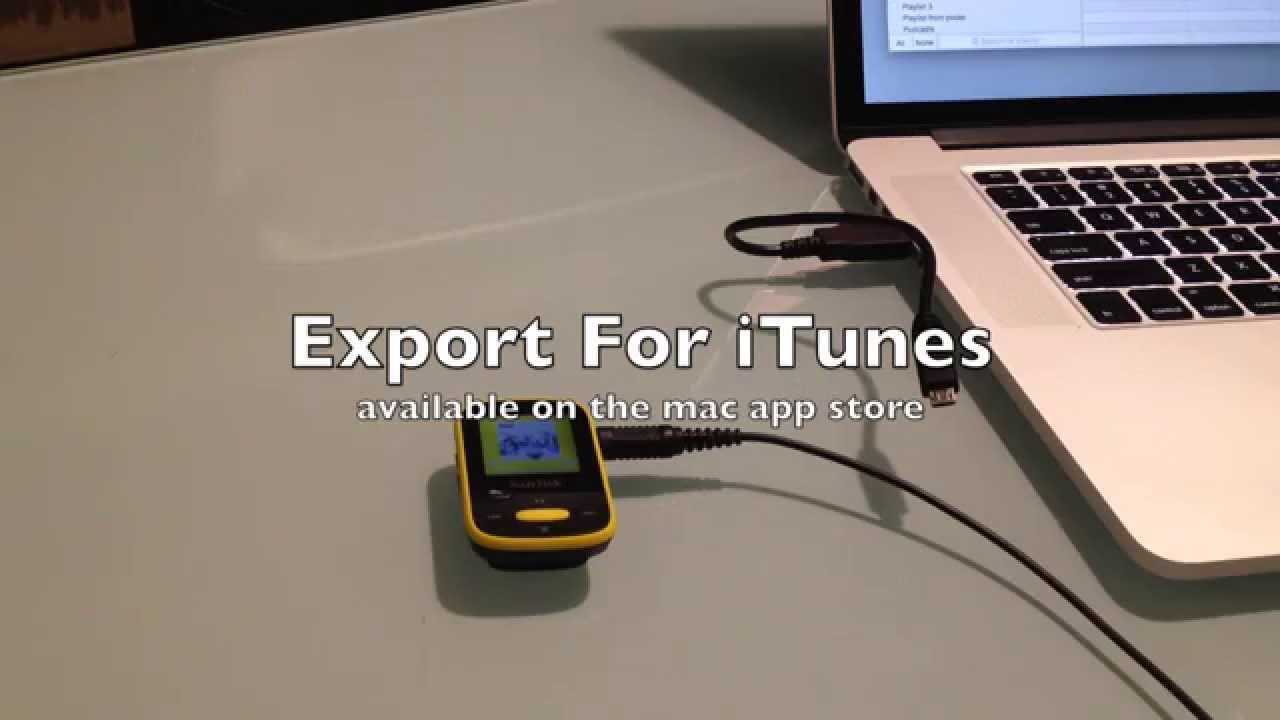 Transfer iTunes playlists to SanDisk Clip Sport MP3 Player ...