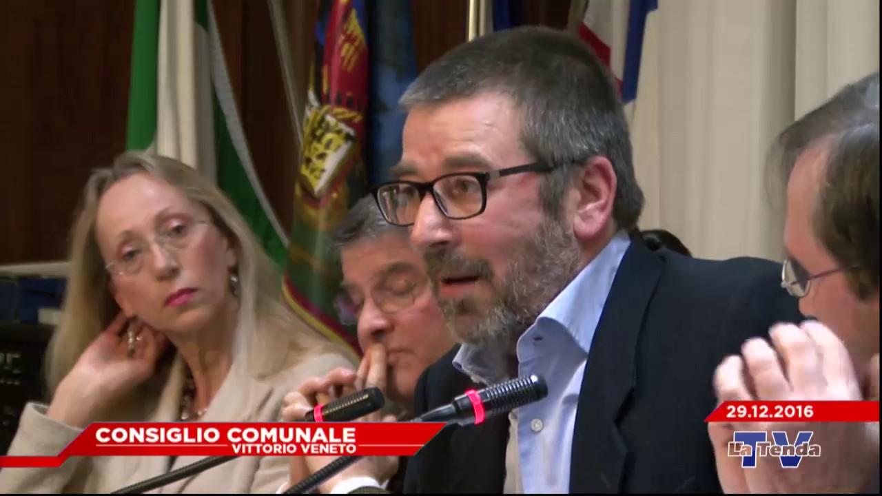 CONSIGLIO COMUNALE VITTORIO VENETO - Seduta del 29.12.2016