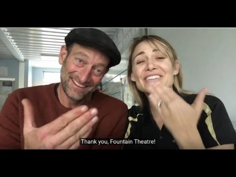 Troy Kotsur & Deanne Bray on The Fountain Theatre Subtitled