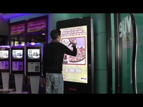 Primesight - Digital Interactive Cinema - Pizza Hut