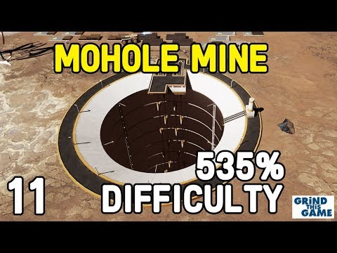 Surviving Mars - MOHOLE MINE WONDER - TONS OF METAL #11 - (535%) DIFFICULTY Playthrough [4k]