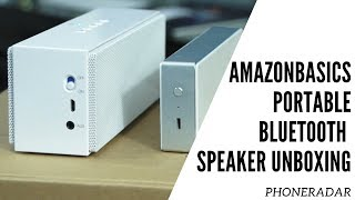 AmazonBasics Portable Bluetooth Speaker Unboxing & Xiaomi Comparison