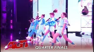 Gforce: Canadian Girl Group Will Make You FEEL Real Girl Power! | America's Got Talent 2019