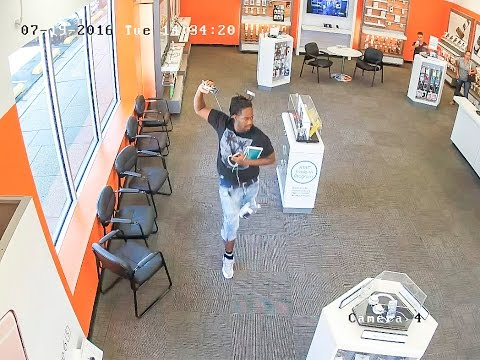 Detectives Investigate 5 Thefts from Cellular Phone Stores - Video 1