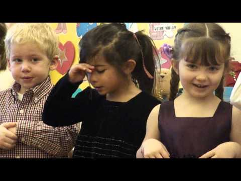 A Lily Preschool Christmas -- Away in a Manger