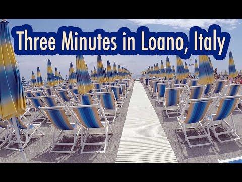 Three Minutes In Loano, Italy