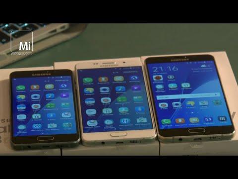 Samsung серии A (2016). Смартфоны для реальной жизни. Часть I