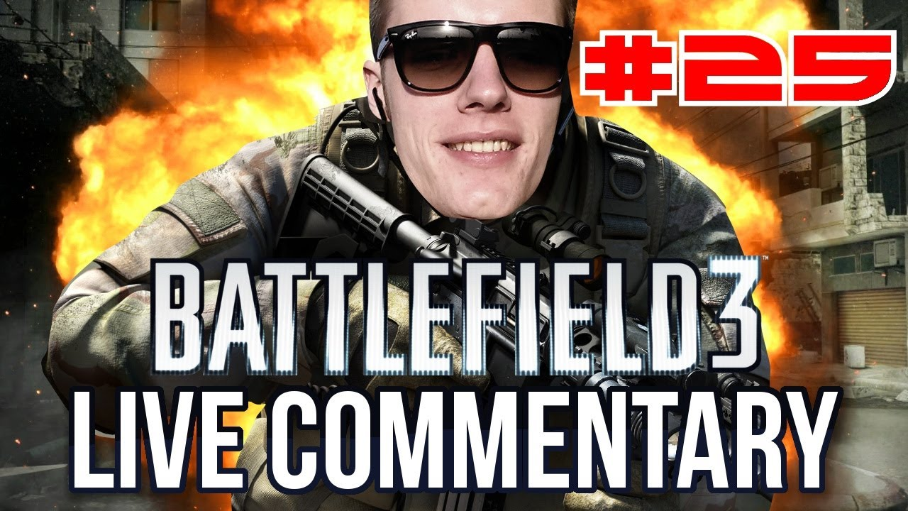 BF3 Live Commentary #25 - ENZO HEEFT 23 KILLS & 2 DEATHS! OWNED! #KNOLPOWER