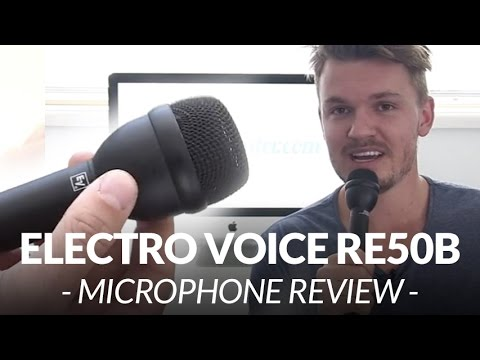 electro voice re50b microphone review chris winter youtube. Black Bedroom Furniture Sets. Home Design Ideas