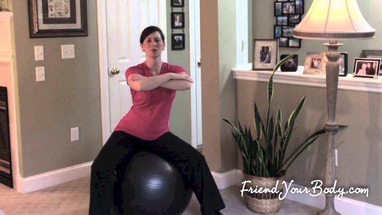 Desk Chair Or Exercise Ball Office Blanket Why I Swapped My For An Plus The Top 5 Exercises To Do At Your Youtube
