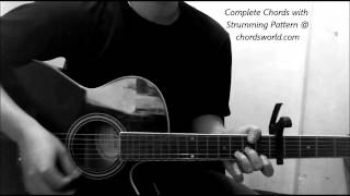 Taylor Swift Blank Space Chords