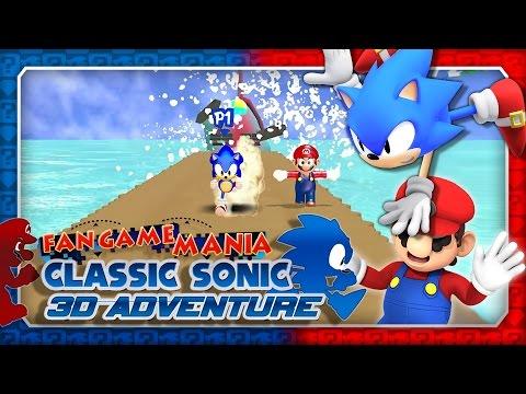 Fan Game Mania - Classic Sonic 3D Adventure (4K 60FPS)
