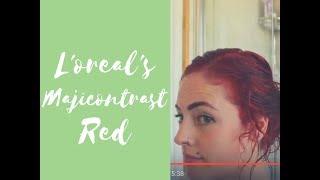 L'OREAL Majicontrast Red Hair Dye