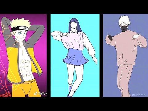 Naruto Tiktok Dance Animation Compilation 🔥