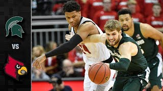 Michigan State vs. Louisville Basketball Highlights (2018-19)