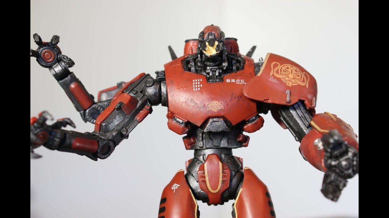 NECA Pacific Rim CRIMSON TYPHOON figure review - YouTube Pacific Rim Crimson Typhoon Drawing