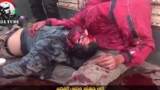 Сирия видео боевиков 05,10,2013 Этюд в багровых тонах
