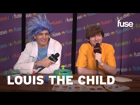 Louis The Child Attempt Spin Art While Explaining Their Name   Voodoo 2017   Fuse